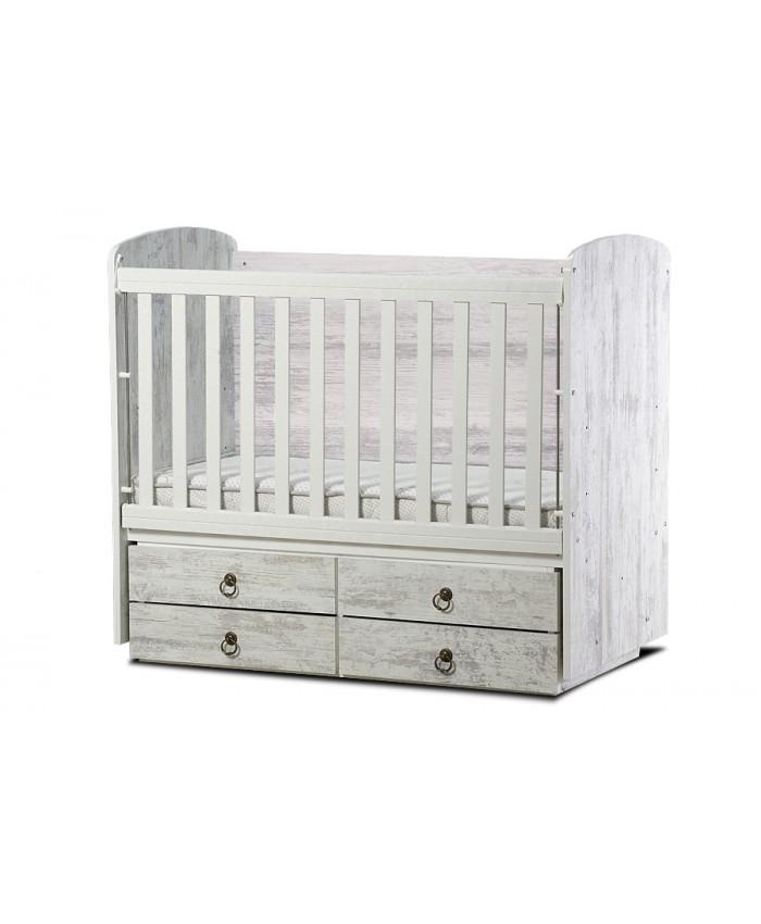 BABY BED ''DESSY'' 60/120cm DIOMMI(46-012)