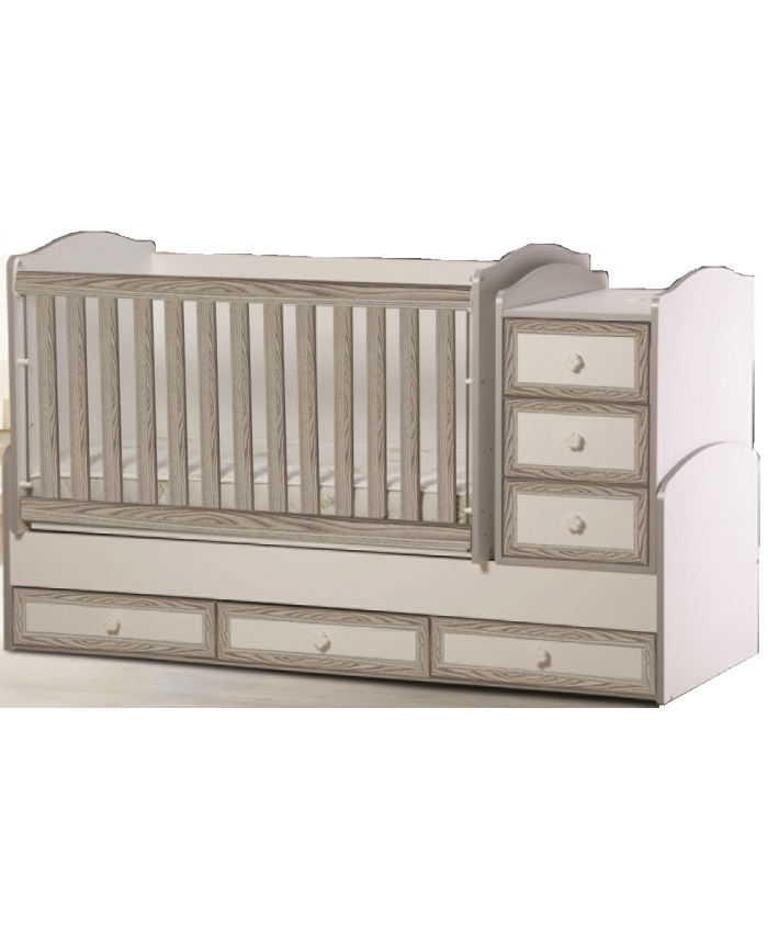 BABY BED ''ELENA'' 70Χ130cm DIOMMI(46-005)