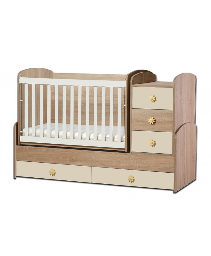BABY BED ''ΝΙΑ'' 65Χ110cm DIOMMI(46-001)