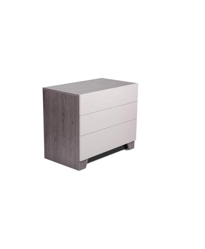 Boudoir 3 drawers ''CHANCE'' 90x52x75cm DIOMMI (45-718)