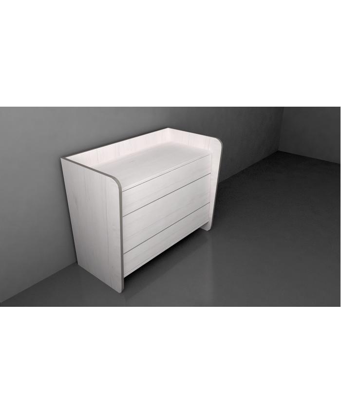 Boudoir 3 drawers ''ELLE'' 90x50x75cm DIOMMI (45-706)