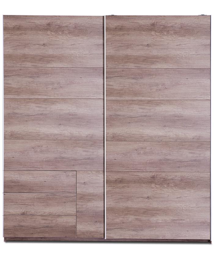 Sliding Wardrobe ''ELLE'' 200x220x70cm  DIOMMI (45-712)