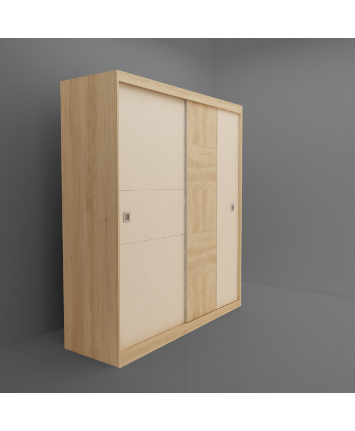Sliding Wardrobe ''TAIS'' 150x210x64cm  DIOMMI (45-046)