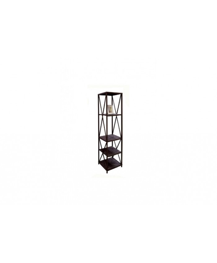 Shelf with four shelves '' REG-106 '' 44x44x156cm DIOMMI (32-137)