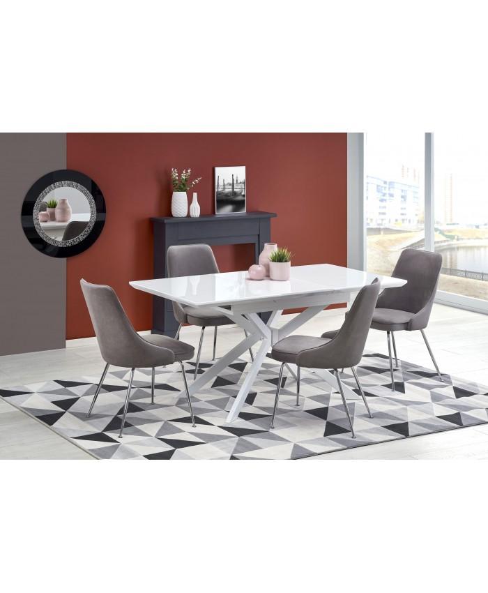 "Dining Table ""HARPER"" 120-160x80x76cm DIOMMI (32-050)"