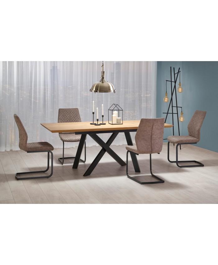 "Dining Table ""CAPITAL"" 160-200x90x76cm DIOMMI (32-053)"