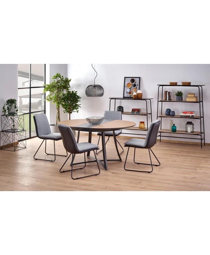 "Dining Table""MORETTI"" 118-148x118x76cm DIOMMI (32-049)"