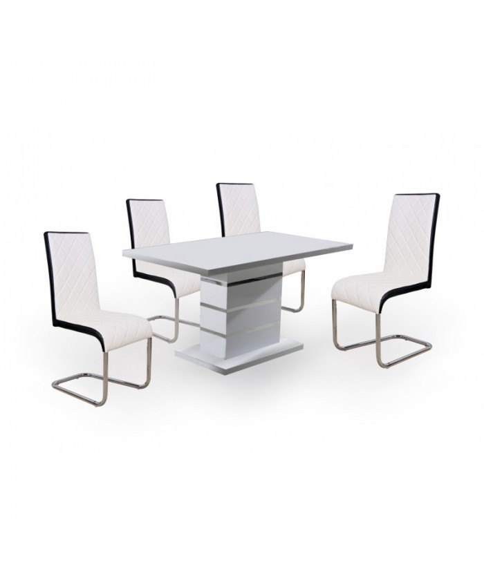 """Dining Table """"MARBELO"""" 140x80x75cm DIOMMI (32-059)"""
