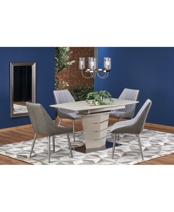 "Dining Table ""SORENTO"" 140-180x80x76cm DIOMMI (32-051)"