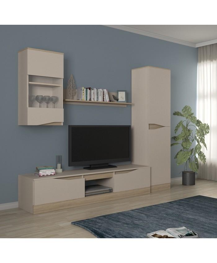 "TV BAR ""ALFIN 1"" 219x190x47cm DIOMMI (42-004)"