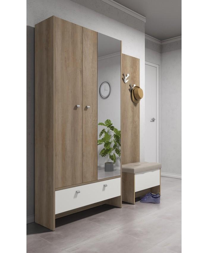 "Hallway Furniture ""ANTRE 1"" 160x196x39cm DIOMMI (42-009)"