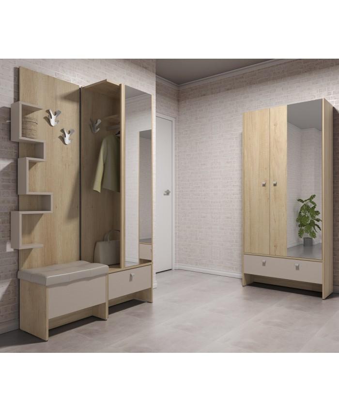 "Hallway Furniture ""ANTRE 4"" 205x196x39cm DIOMMI (42-012)"