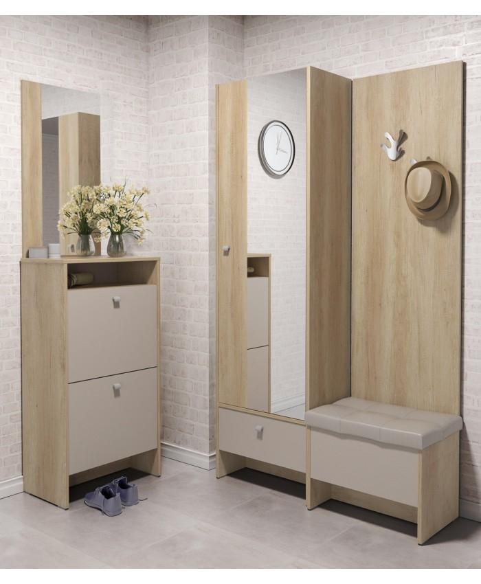 "Hallway Furniture ""ANTRE 3"" 168x196x39cm DIOMMI (42-011)"