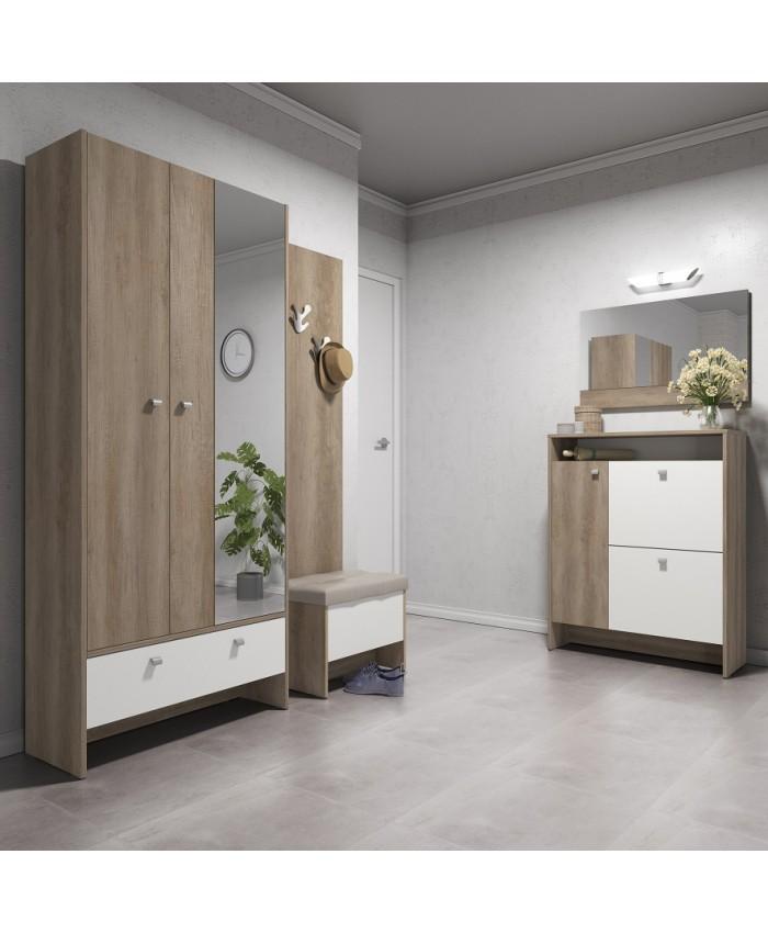 "Hallway Furniture ""ANTRE 5"" 231x196x39cm DIOMMI (42-013)"