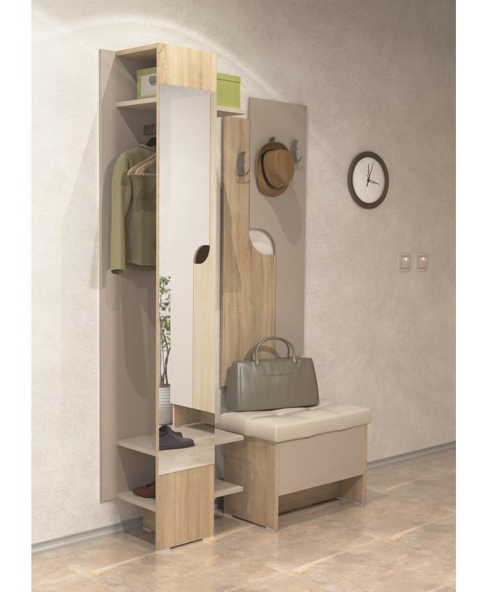 "Hallway Furniture ""FREELANS 1"" 110х196х39cm DIOMMI (42-021)"