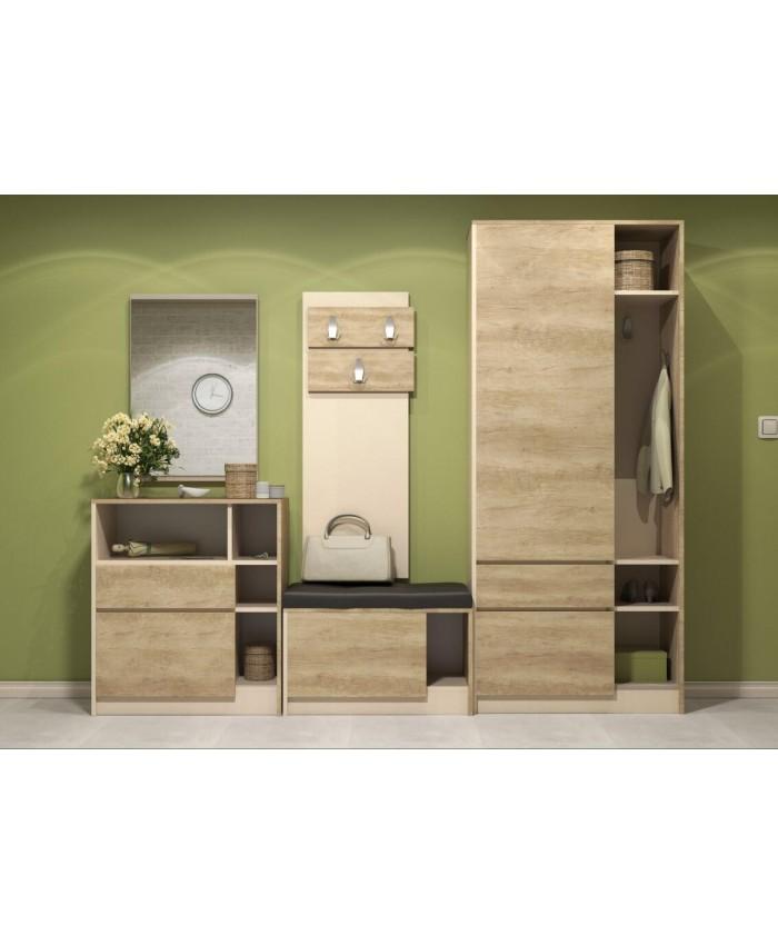 "Hallway Furniture ""PANDORA 2"" 250х211х37cm DIOMMI (42-020)"
