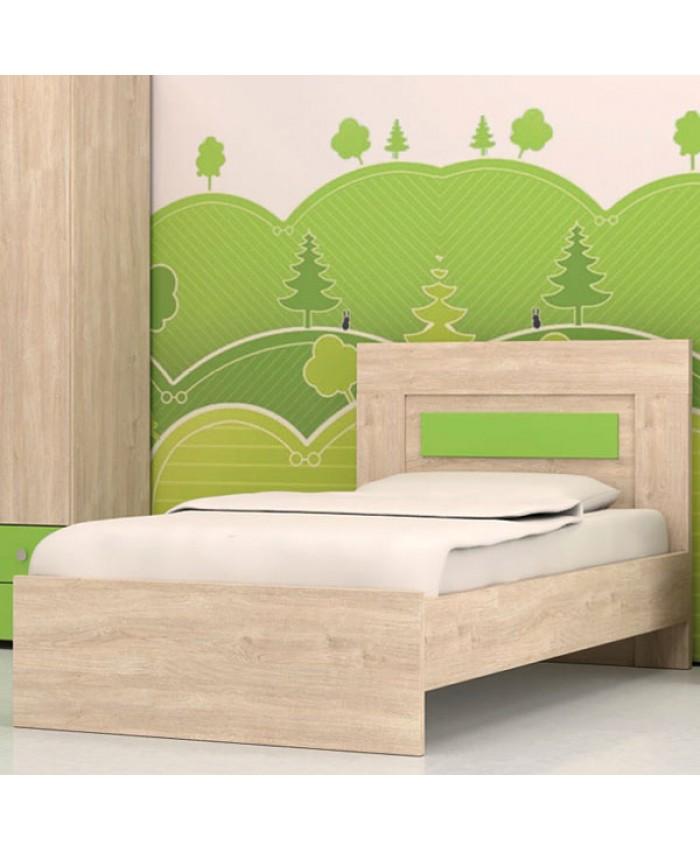 """Bed """"IVANOI"""" 090x190/200cm DIOMMI (25-203)"""
