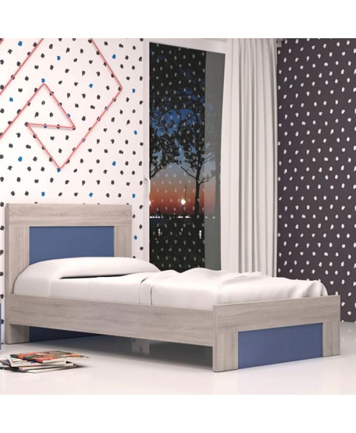"Bed ""SANDY"" 090x190/200cm DIOMMI (25-205)"