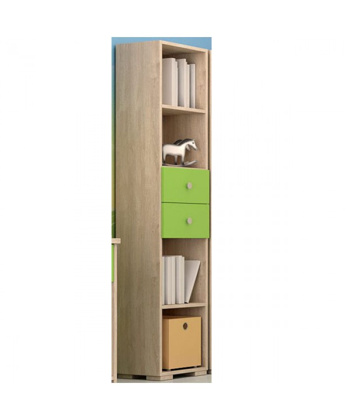Bookcase ''With Drawers'' 40x180x30cm DIOMMI (25-403)