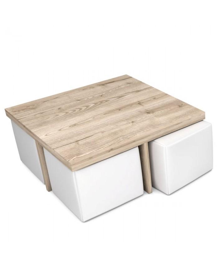 "Coffee table ""CROSS"" 90x90x40cm DIOMMI (25-601)"