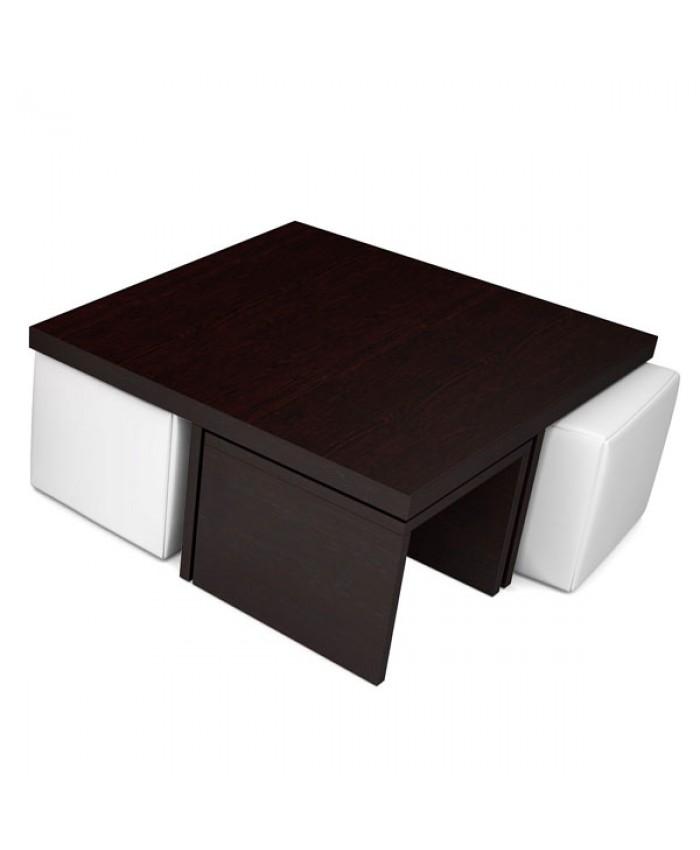 "Coffee table ""CROSS LEGGED"" 90x90x40cm DIOMMI (25-602)"