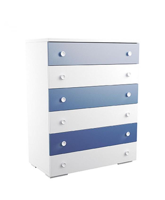 Dresser 6 drawers 90x112x45cm DIOMMI (25-303)