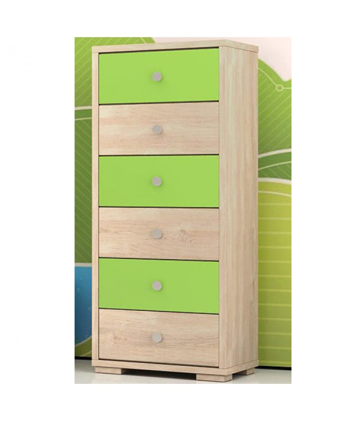 "Dresser 6 drawers ""close"" 60x112x40cm  DIOMMI (25-304)"
