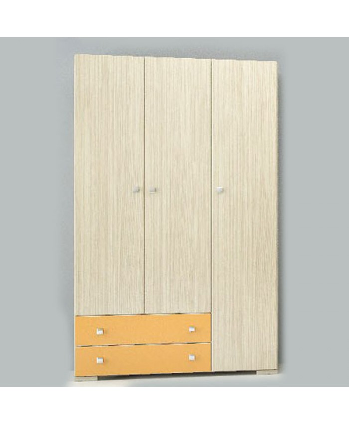 """3F Wardrobe   """"No Loft""""110x180x50cm DIOMMI (25-109)"""