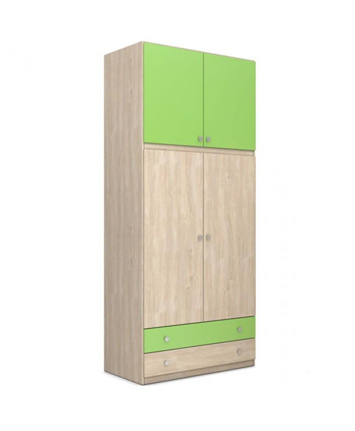 """2F Wardrobe  """"Loft"""" 100x240x60cm DIOMMI (25-112)"""