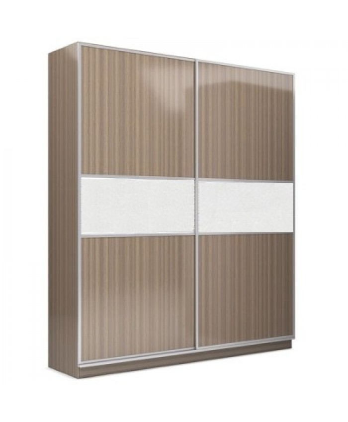 "2F Wardrobe  ""Stripe"" 200x240x60cm DIOMMI (25-115)"