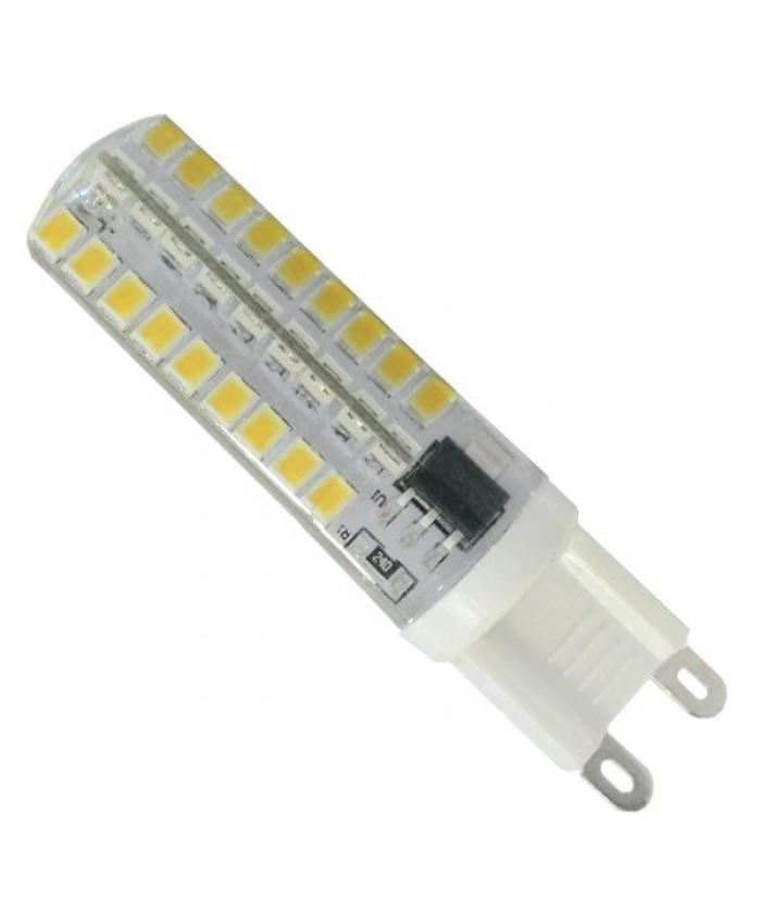 Λάμπα LED G9 72 SMD 2835 Σιλικόνης 5.5W 230V 490lm 320° Θερμό Λευκό 3000k Dimmable Diommi 99379