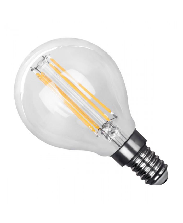 Λάμπα LED E14 G45 Mini Γλόμπος 4W 230V 400lm 320° Edison Filament Retro Θερμό Λευκό 2700k Dimmable Diommi 44006