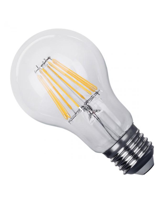 Λάμπα LED E27 A60 Γλόμπος 8W 230V 800lm 320° Edison Filament Retro Θερμό Λευκό 2700k Dimmable Diommi 44010