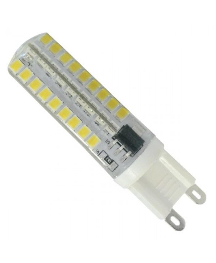 Λάμπα LED G9 72 SMD 2835 Σιλικόνης 5.5W 230V 510lm 320° Φυσικό Λευκό 4500k Dimmable Diommi 99380