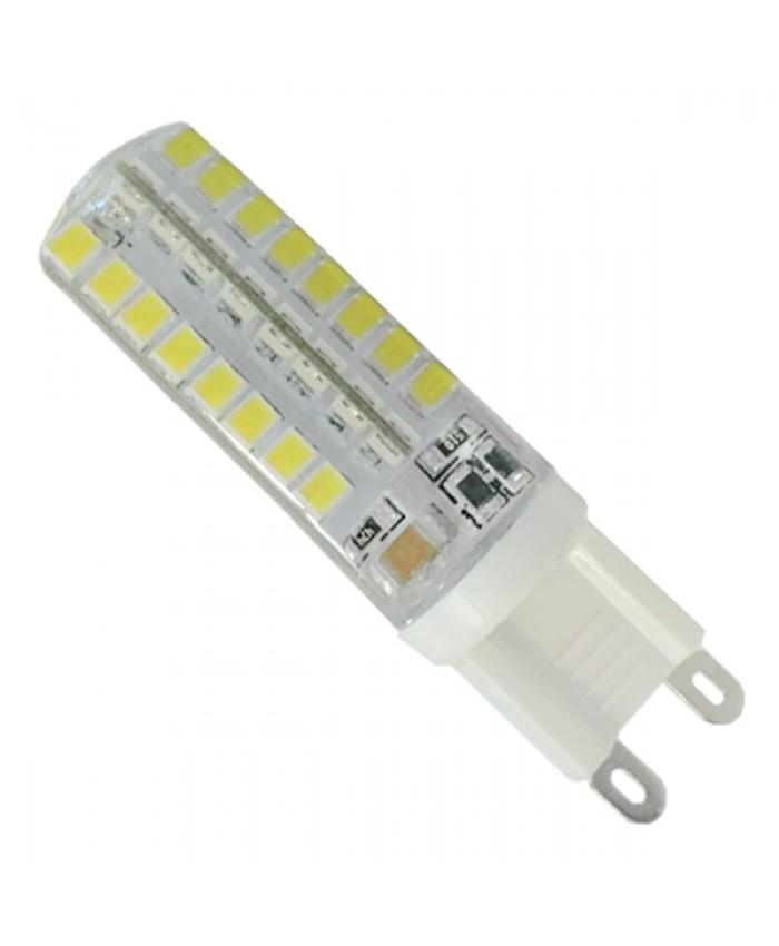 Λάμπα LED G9 48 SMD 2835 Σιλικόνης 4W 230V 360lm 320° Ψυχρό Λευκό 6000k Diommi 99388
