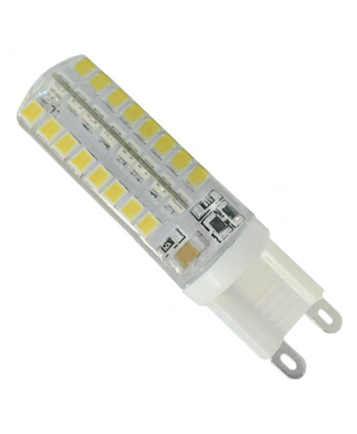 Λάμπα LED G9 48 SMD 2835 Σιλικόνης 4W 230V 340lm 320° Φυσικό Λευκό 4500k Diommi 99389