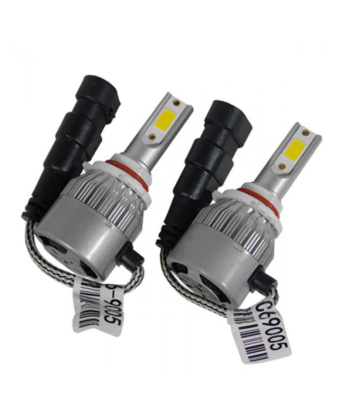 LED HID Kit HB3 9005 36 Watt 8-48 Volt DC 3800 Lumen 6000k C6 Economy Line Diommi 06666