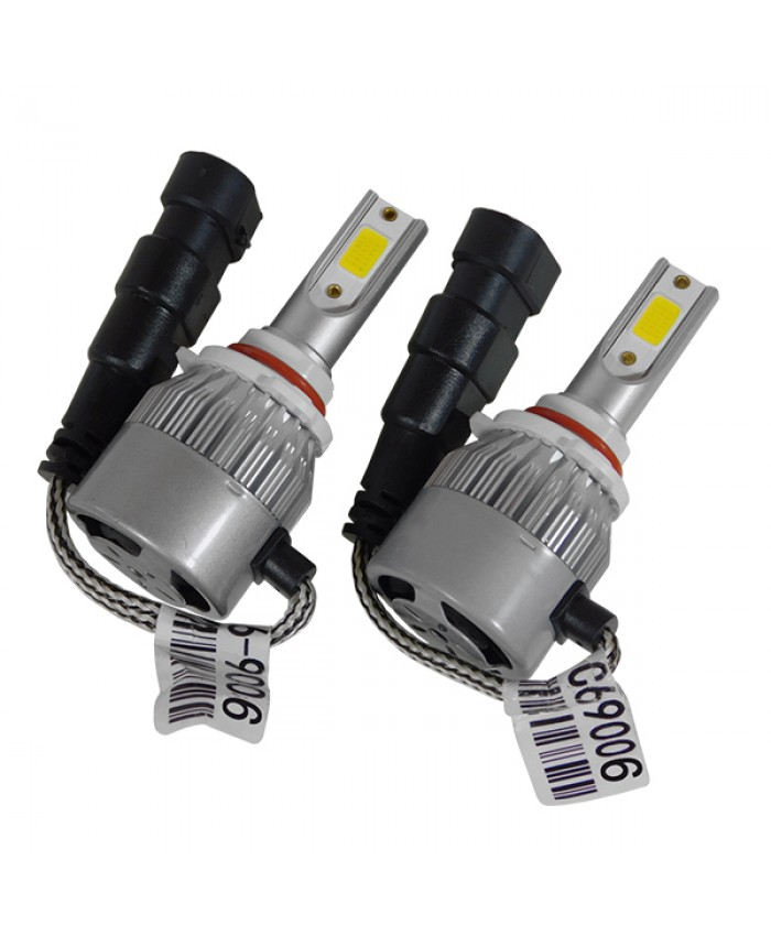 LED HID Kit HB4 9006 36 Watt 9-36 Volt DC 3600 Lumen 6000k C6 Economy Line Diommi 06667