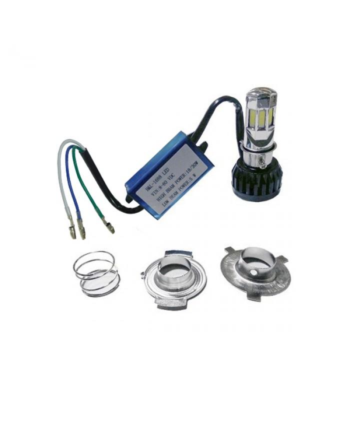 LED Βασικός Φωτισμός Μοτοσυκλέτας H4/HS1 35 Watt 8-80 Volt 3500 Lumen Diommi 67788