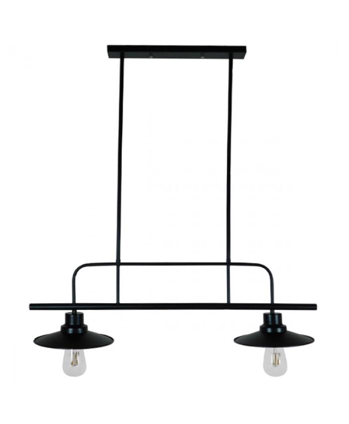 HANGING LAMP Diommi BILLIARD BLACK 01007
