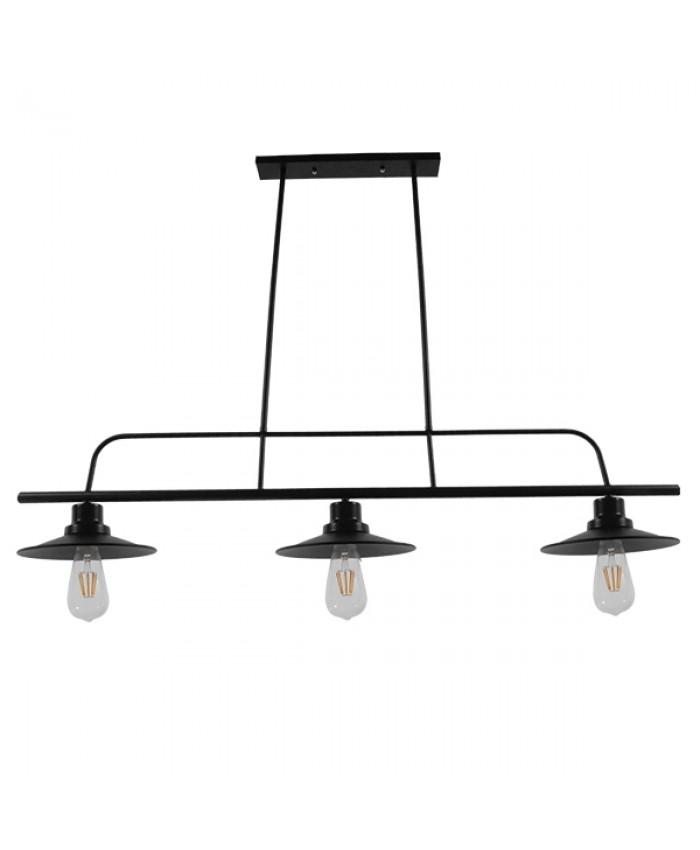 HANGING LAMP Diommi BILLIARD BLACK 01009