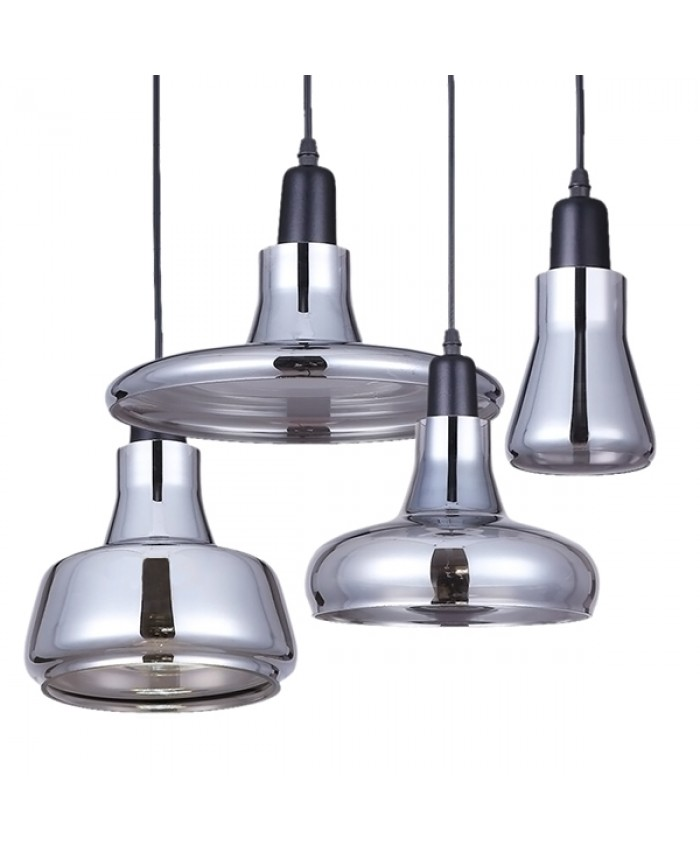 SET 4 Modern HANGING LAMP Diommi FEMINE 01011