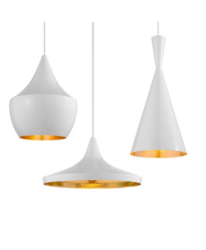 SET 3 HANGING LAMP Diommi SHANGHAI WHITE 01026