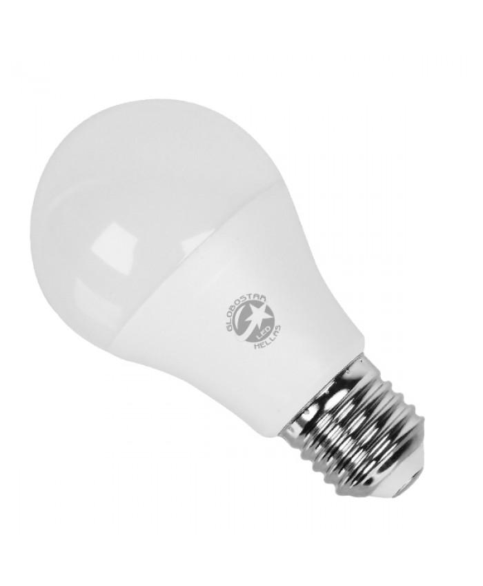 Λάμπα LED E27 A60 Γλόμπος 10W 230V 950lm 260° Θερμό Λευκό 3000k Diommi 01726