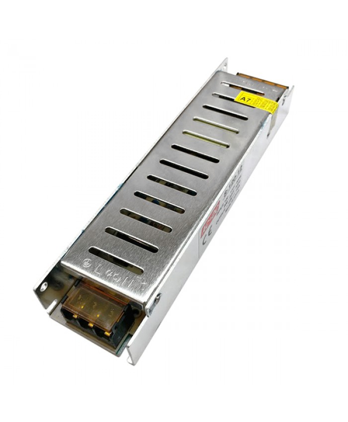 LED Τροφοδοτικό Slim Series DC 120W 12V 10 Ampere IP20 Diommi 03002