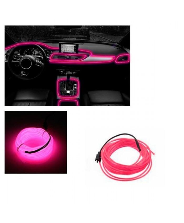 Εύκαμπτο φωτιζόμενο καλώδιο Neon Φούξια Diommi 08003
