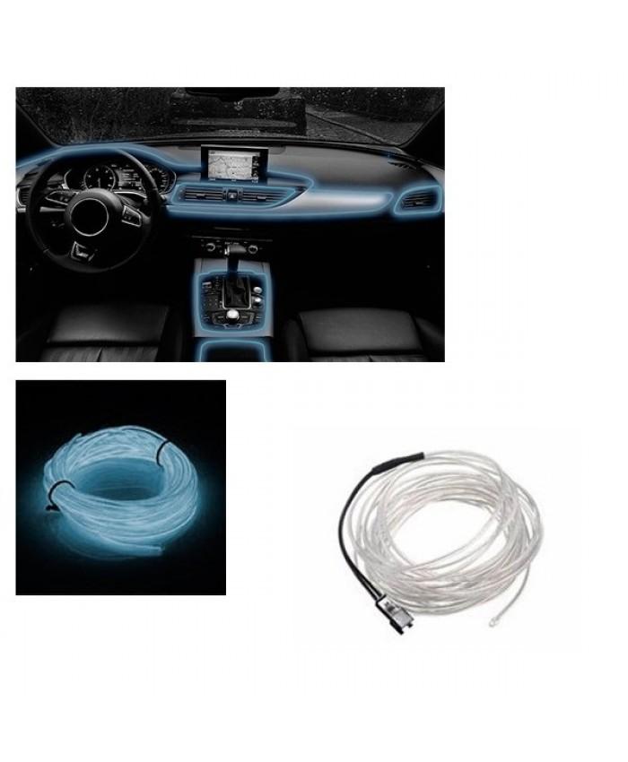 Εύκαμπτο φωτιζόμενο καλώδιο Neon Γαλάζιο Diommi 08004