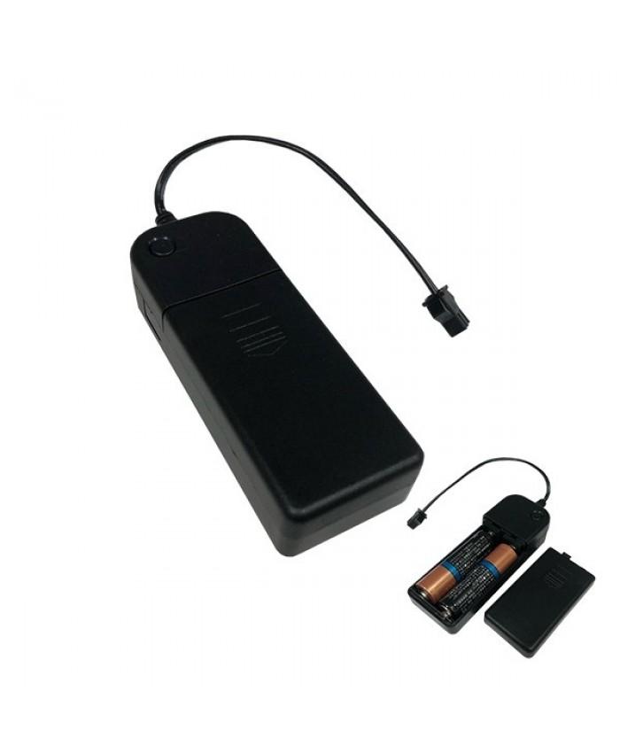 Φορητός Ελεγκτής Τροφοδοσίας για NEON με Μπαταρίες 2xΑΑ Diommi 08011