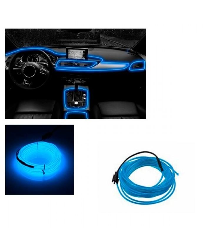 Εύκαμπτο φωτιζόμενο καλώδιο Neon Μπλε Diommi 08005
