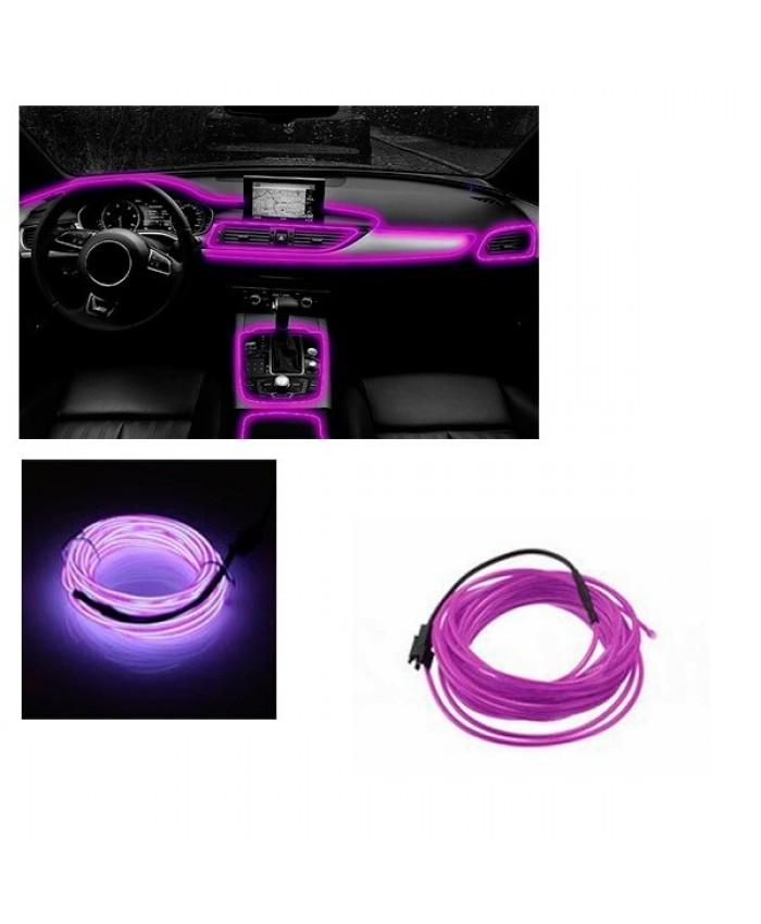 Εύκαμπτο φωτιζόμενο καλώδιο Neon Μωβ Diommi 08007